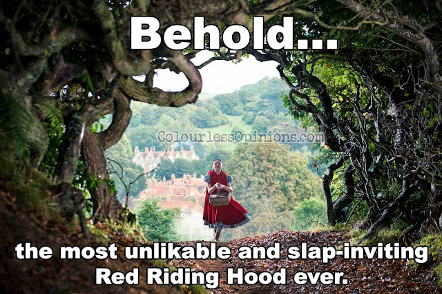 Red Riding Hood Into the Woods meme