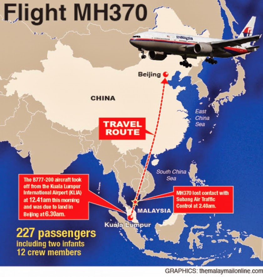 Malaysia Airlines Mystery Deepens After Top Disease Experts Rushed To Indian Ocean