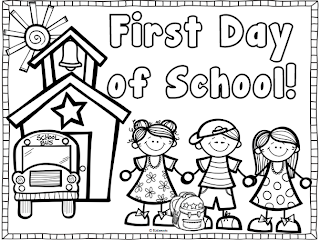 Preschool Coloring Book Back To School Coloring Pages