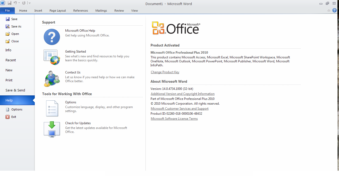 Microsoft Office 2010 Final Full Activated | Download ...