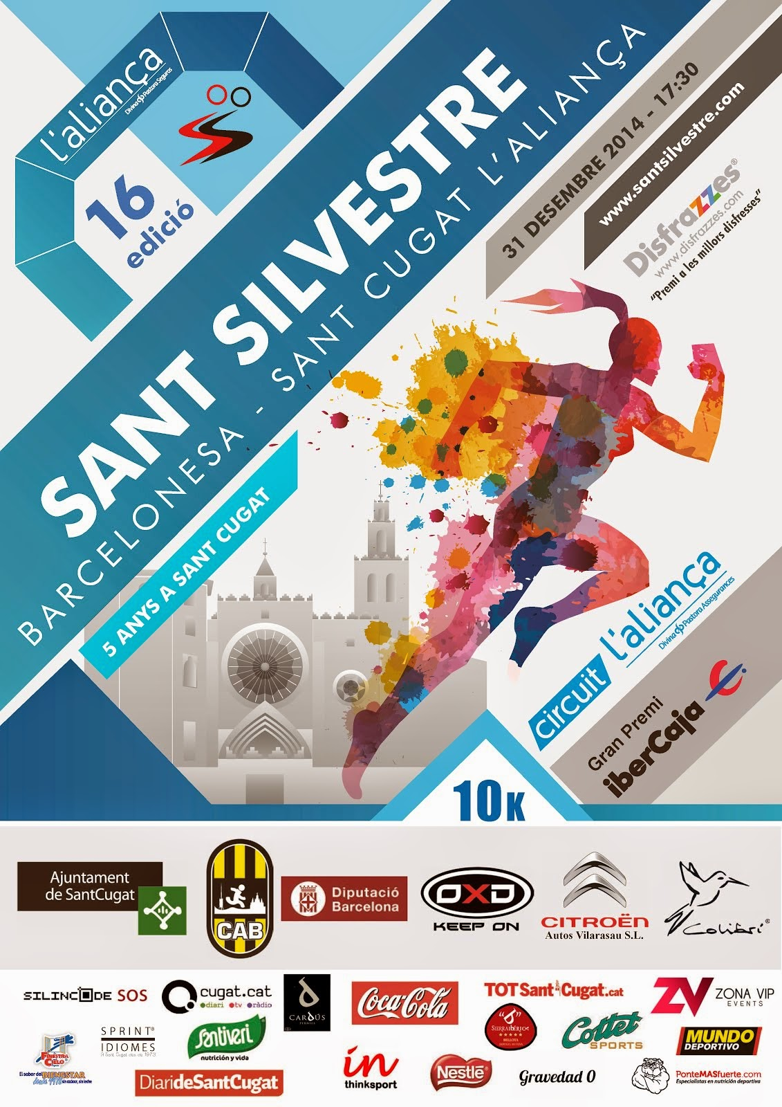 Sant Silvestre Barcelonesa'2014