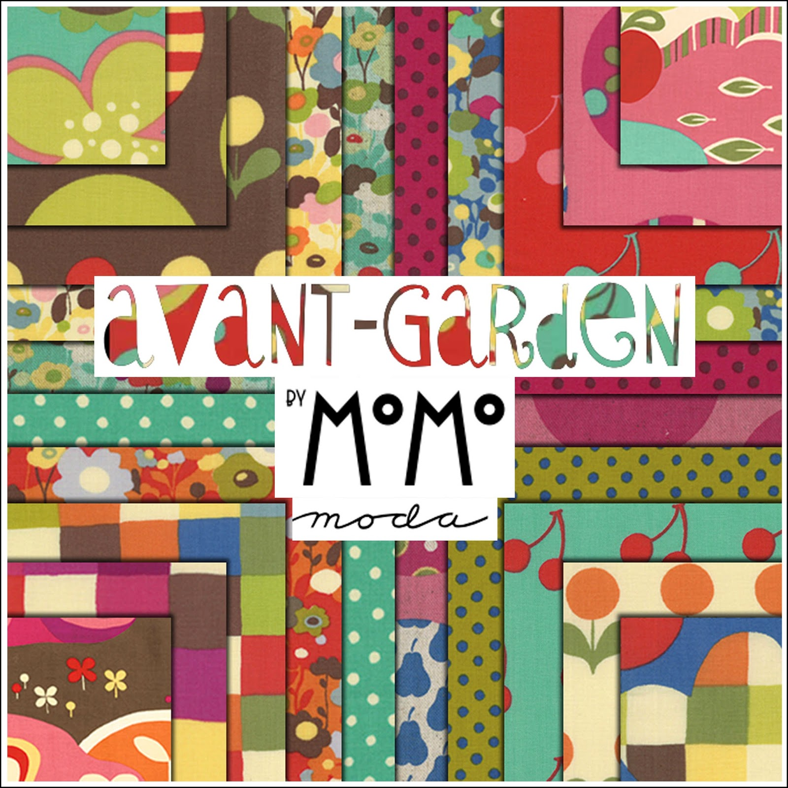 Moda AVANT GARDEN Quilt Fabric by Momo for Moda Fabrics