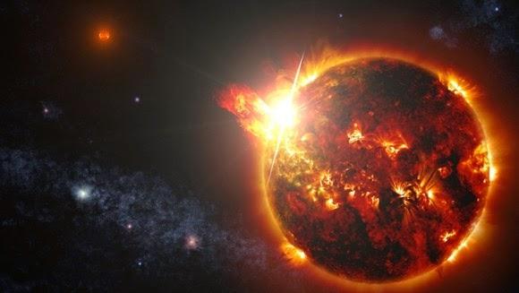 NASA Deteksi Letupan Suar Bintang Terbesar di Alam Semesta