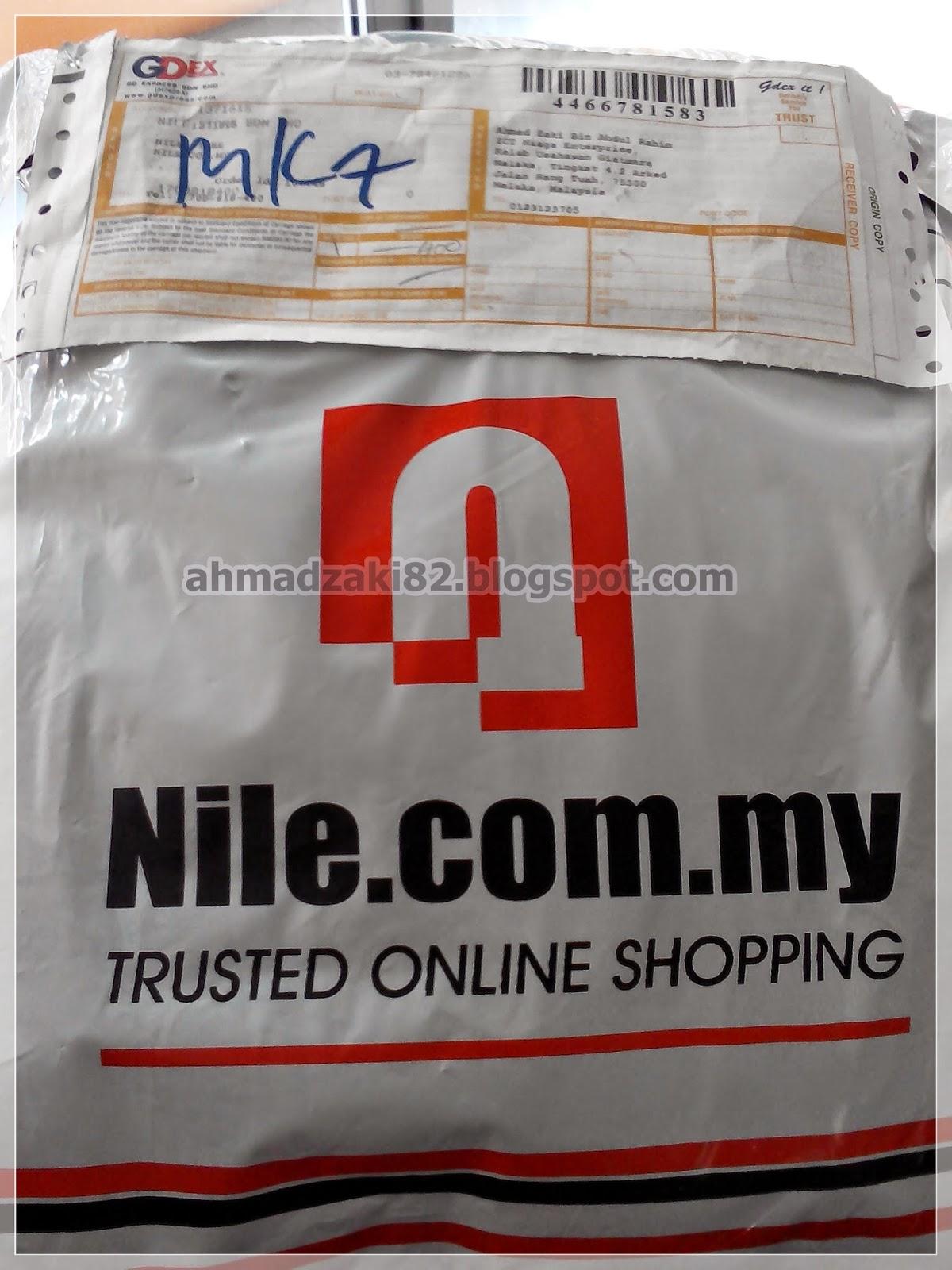 Pengalaman membeli secara online di Nile Store