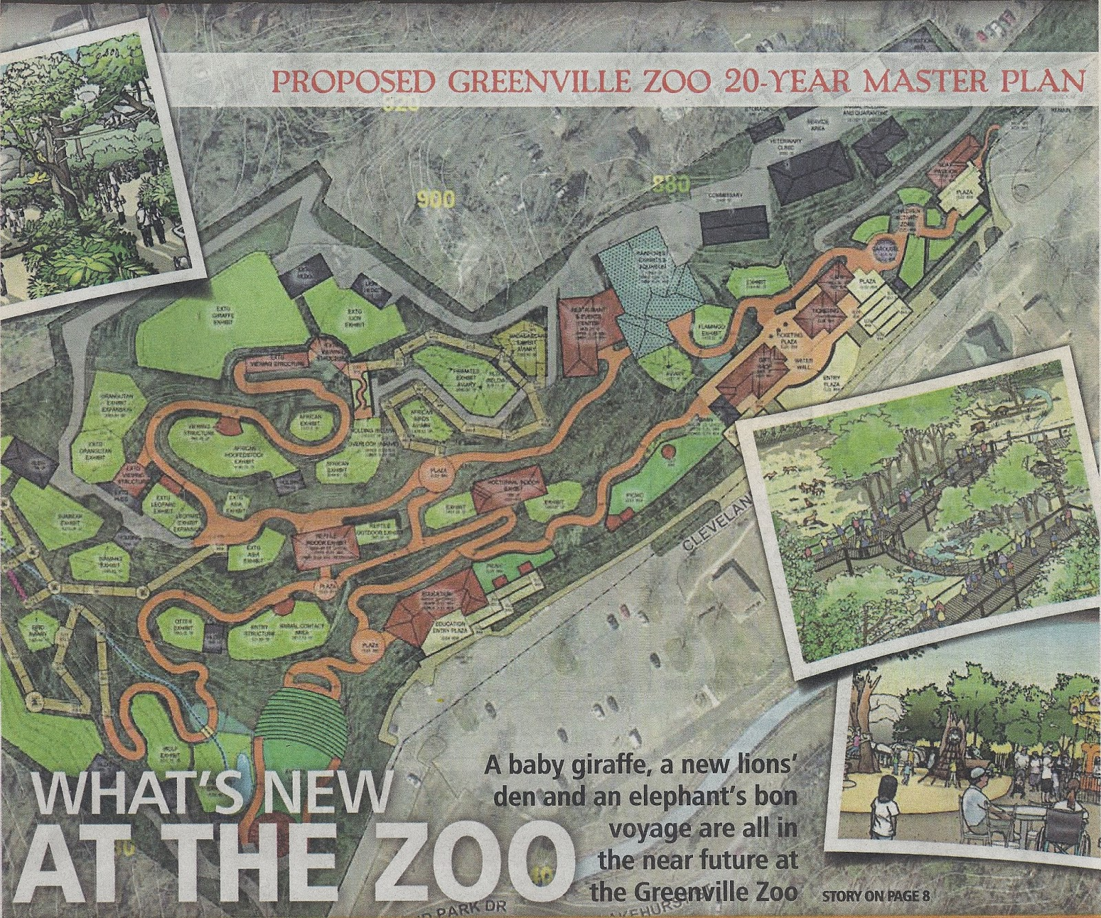 Femme au foyer: The best small zoo in America - the Greenville Zoo