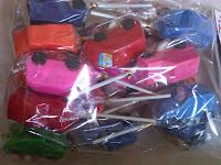 Permen mainan Mobil