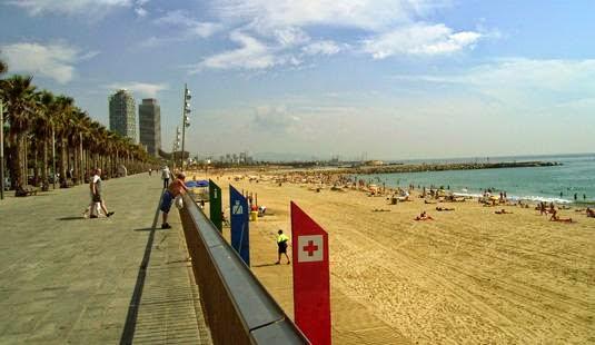 Listado de Playas de Barcelona