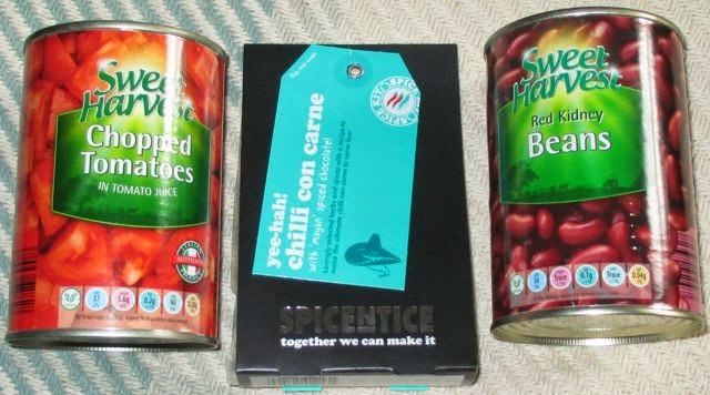 Foodstuff finds spicentice yee hah chilli con carne for Adding chocolate to chilli con carne