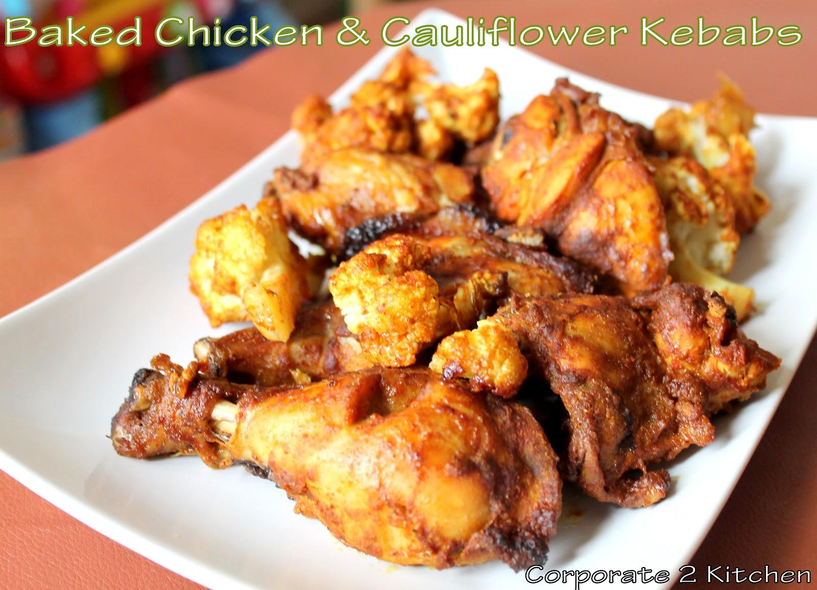Korporate 2 Kitchen: Baked Juicy Chicken Kebabs