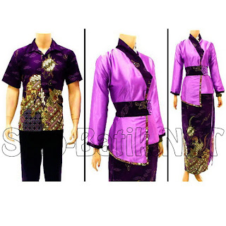 Baju Pasangan Batik Muslim