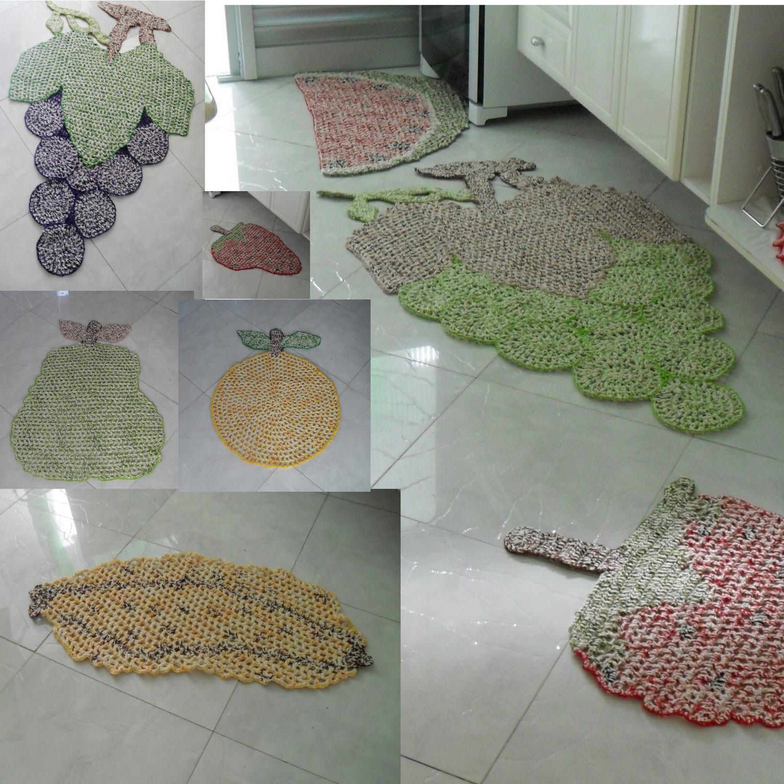 de tapetes de croch em barbante para cozinha em formato de frutas #67443B 1600x1600 Balança De Banheiro G Life