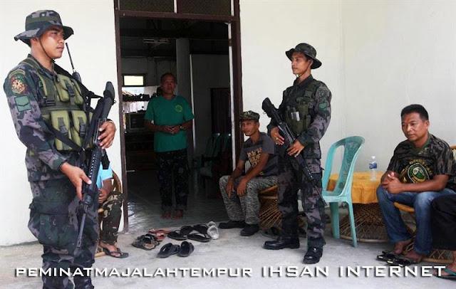 Rumah Kiram di Kawal Polis Selepas Terima Syiling 50 Sen
