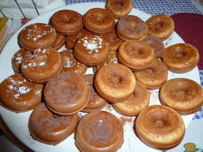 Mini-Donuts de Iogurte grego