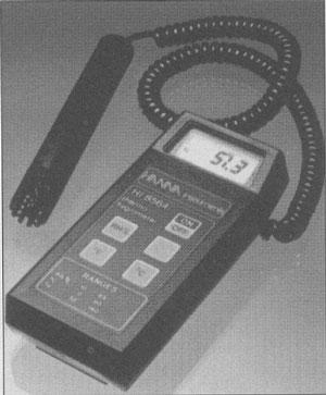 Modelo de termohigrómetro.