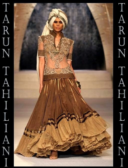 TARUN TAHILIANI Indian Designer Lehnga Collection 2014