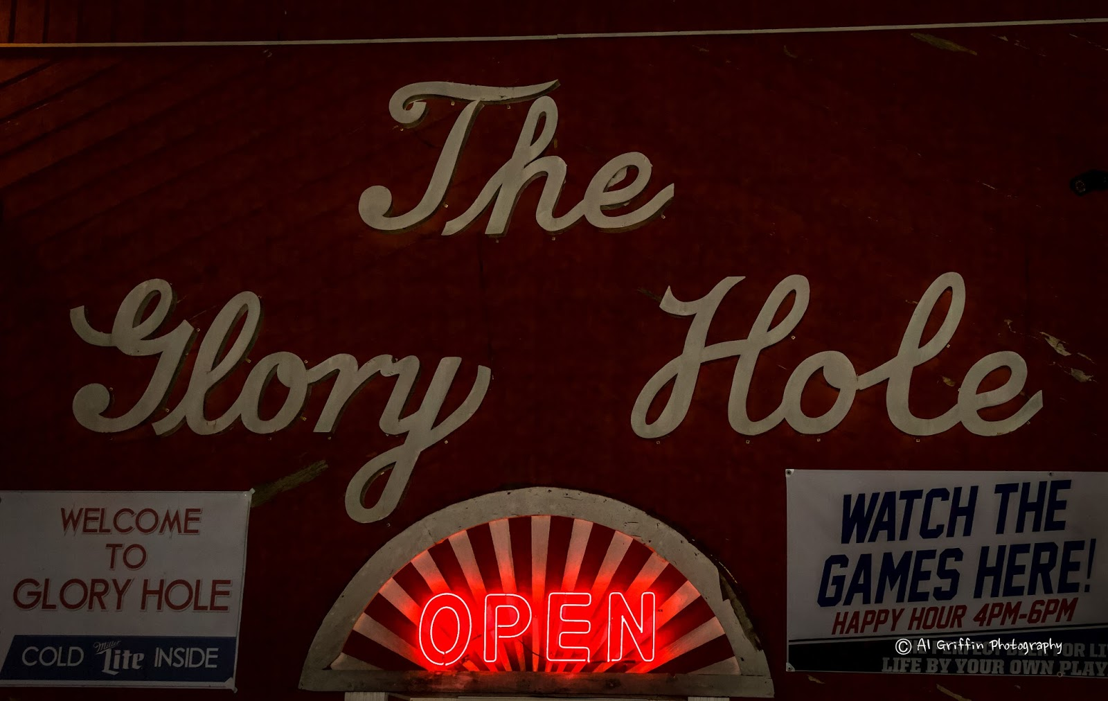 "Michael Carter at Taterhoggz told me I had to see The Glory Hole for  myself. It didn't hurt that the best ""husband-sent-on-a-shopping-trip bar  story"" I have ..."