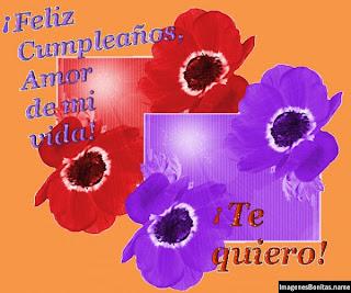 Frases Para Cumpleaños: Feliz Cumpleaños Amor