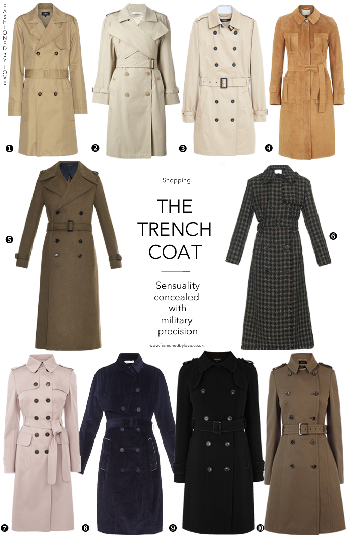 Best trench coats for all budgets via www.fashionedbylove.co.uk british fashion blog