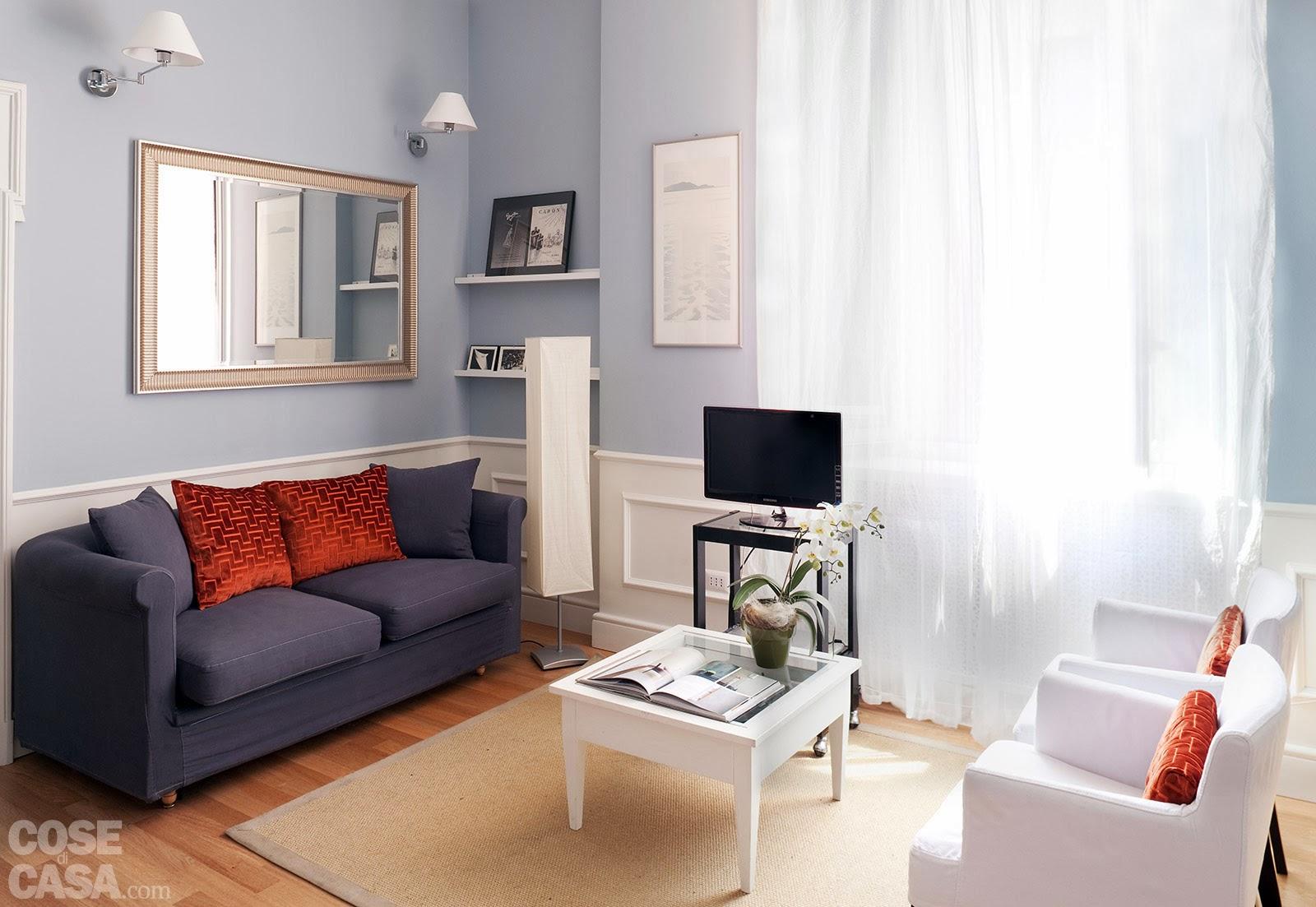 Soggiorno Pranzo 20 Mq : Vivo Di Immobili Come Arredare Una Casa Di 50  #7D3424 1600 1103 Come Arredare Cucina Soggiorno Di 20 Mq