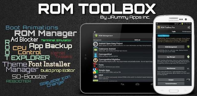 ROM Toolbox Pro v5.5.6 APK