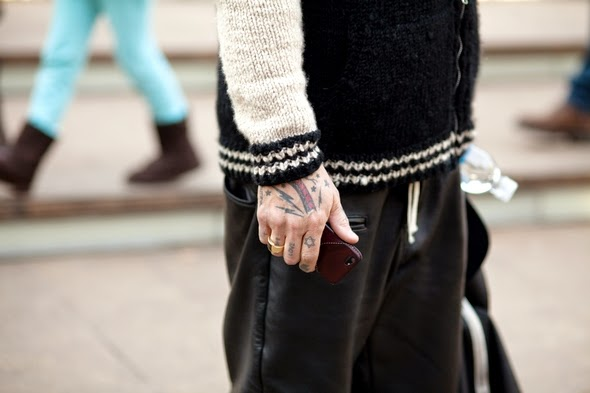 tattoos leather iphone case varsity jacket new york mens fashion street style the stylepreneur