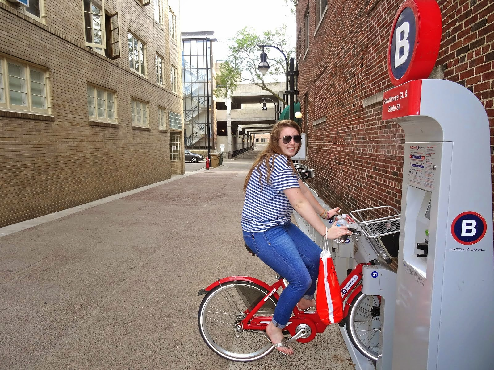 Madison Bike Share.