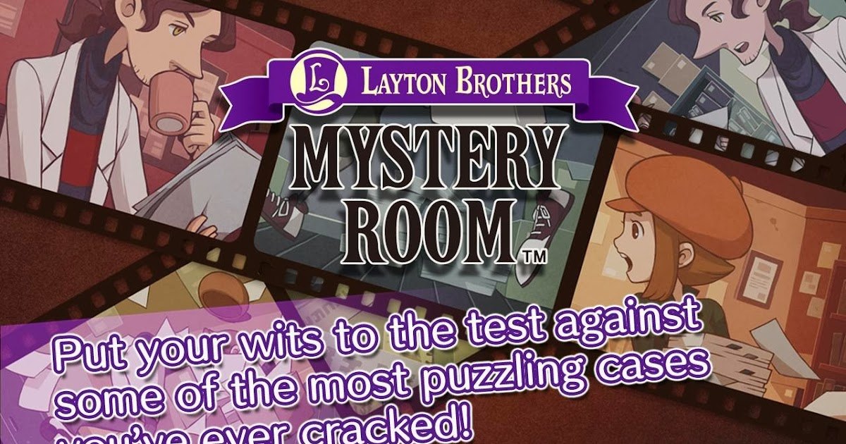 Layton Brothers Mystery Room Case