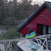 They built Rollercoaster inside a house for Dutch commercial