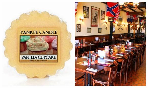 Yankee candle vanilla cupcake + Chi Chi's Zaventem