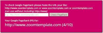 Google-PageRank-(PR)-Checker