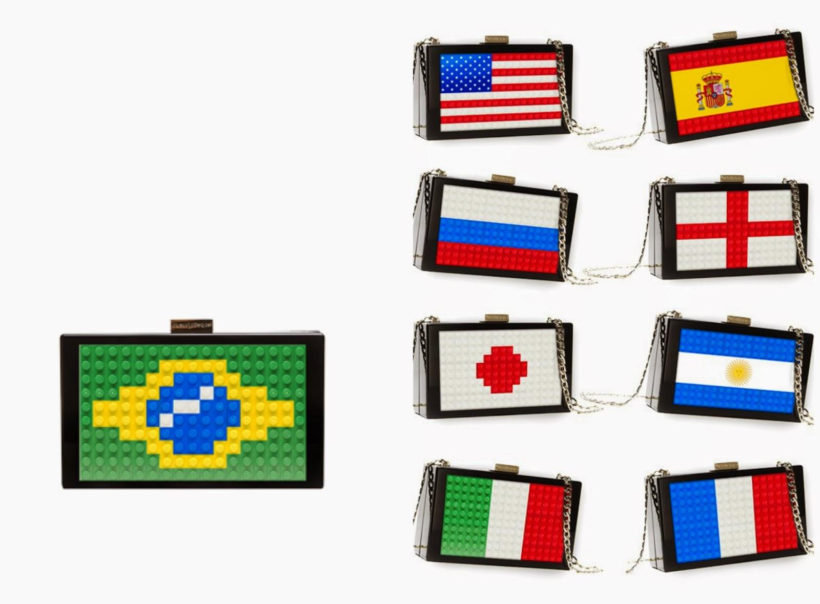 les petits joueurs world cup brazil 2014 bag