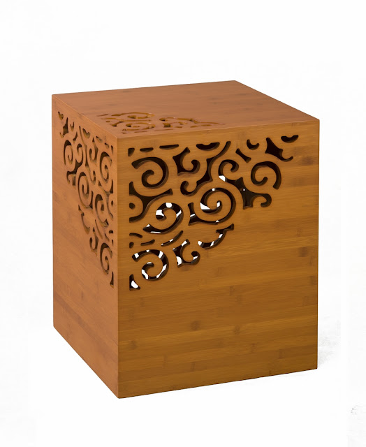 Bamboo End Table6