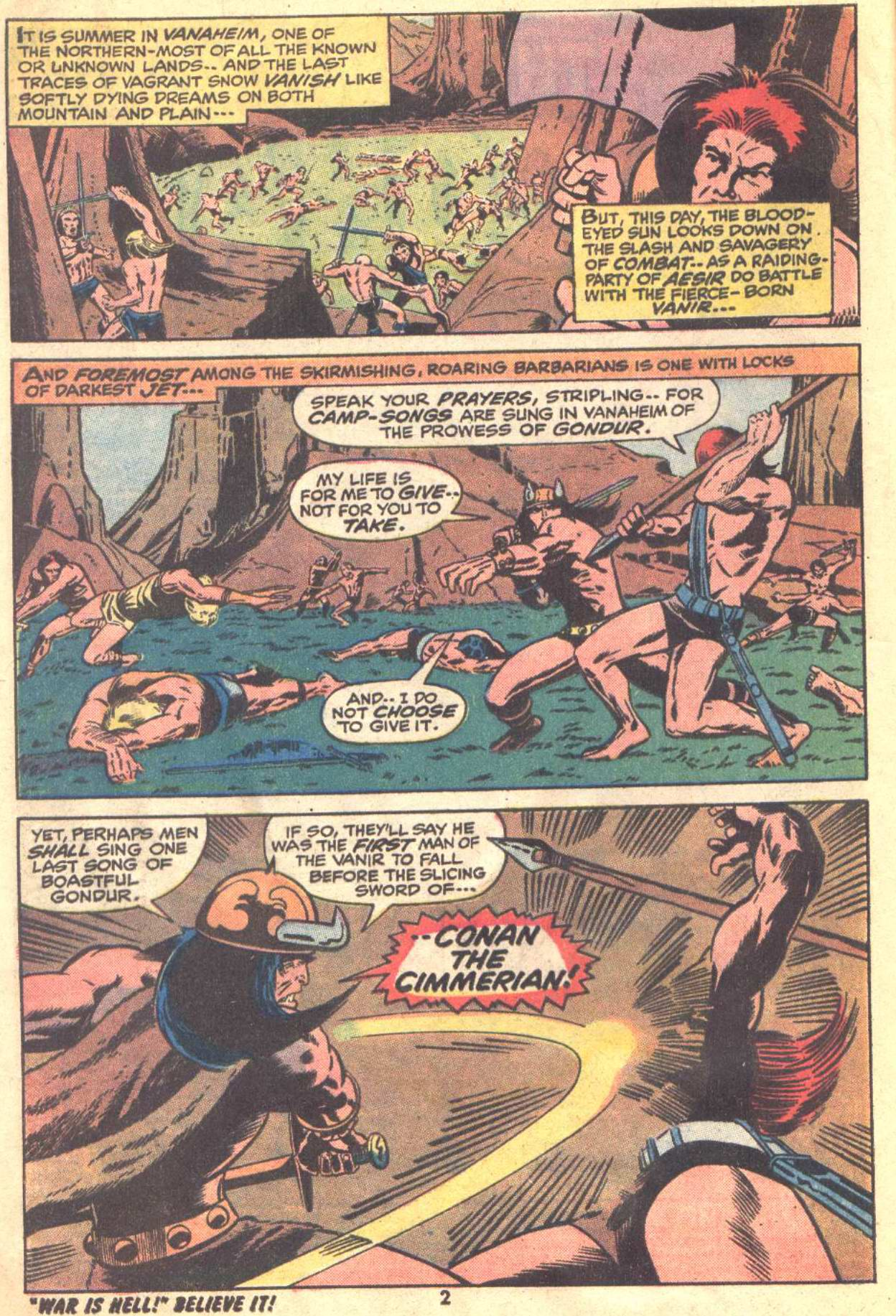 Conan the Barbarian (1970) Issue #22 #34 - English 3