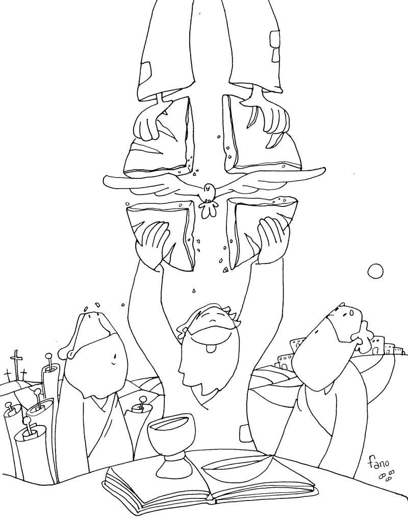 Educar con Jesús: III Domingo Pascua con Fano
