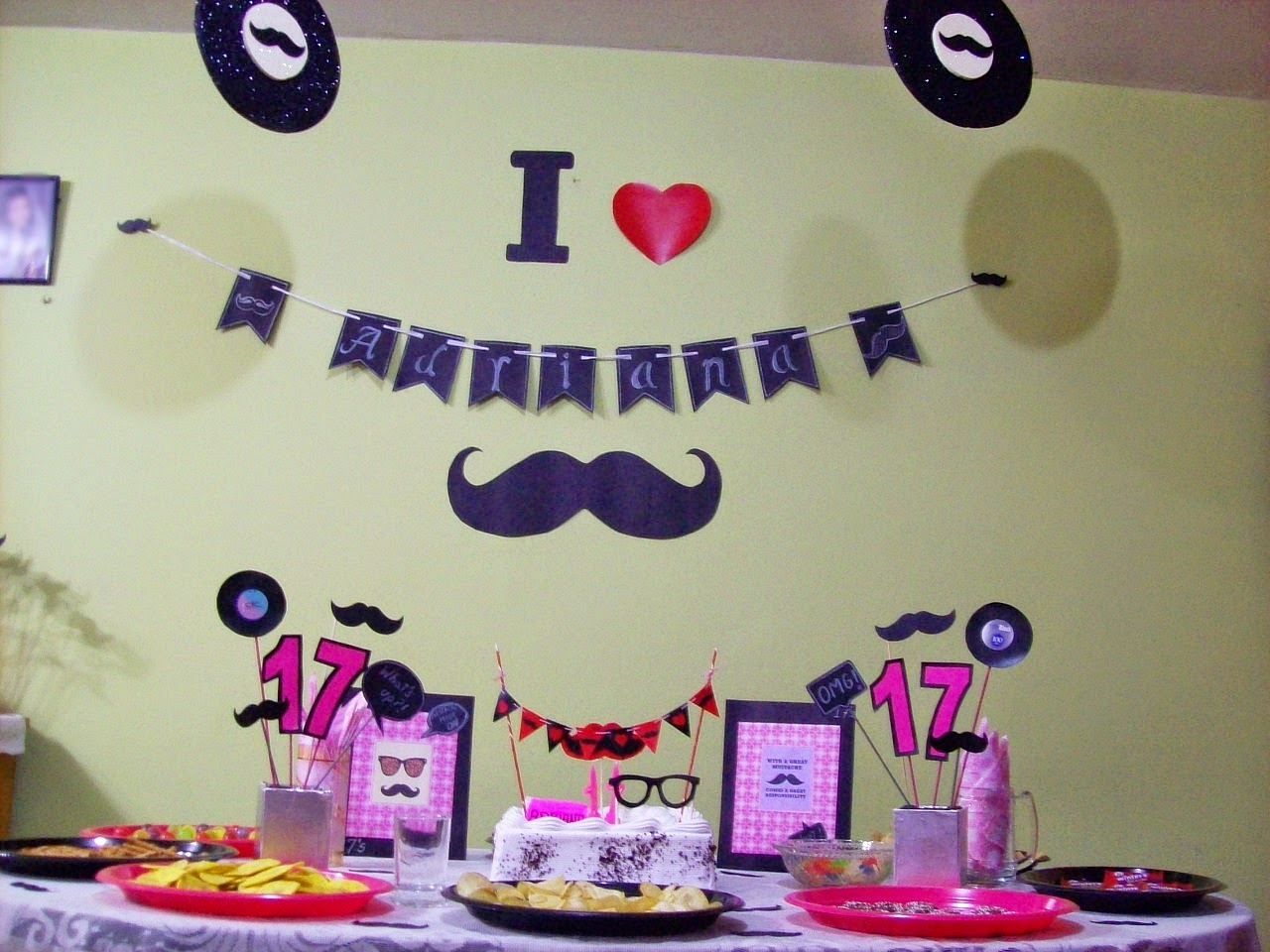 moustache bash ideas diy party hipster
