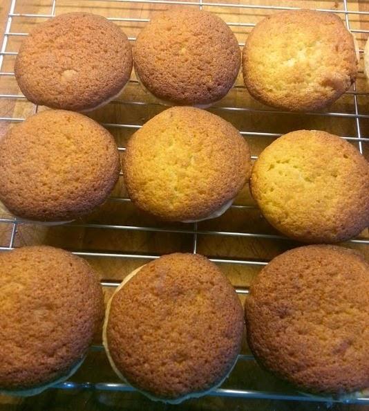 Duerr's jam sponge tarts