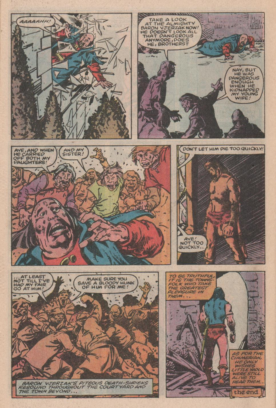 Conan the Barbarian (1970) Issue #155 #167 - English 23