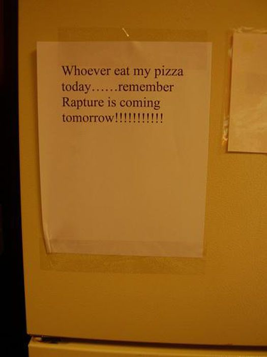 Funny Notes for Roommates