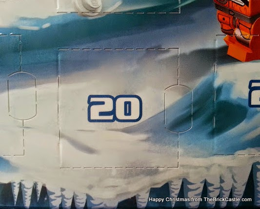 The LEGO Star Wars Advent Calendar Day 20 window