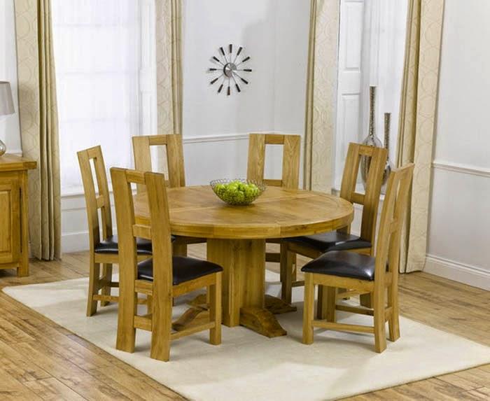 furniture ruang makan minimalis dari kayu
