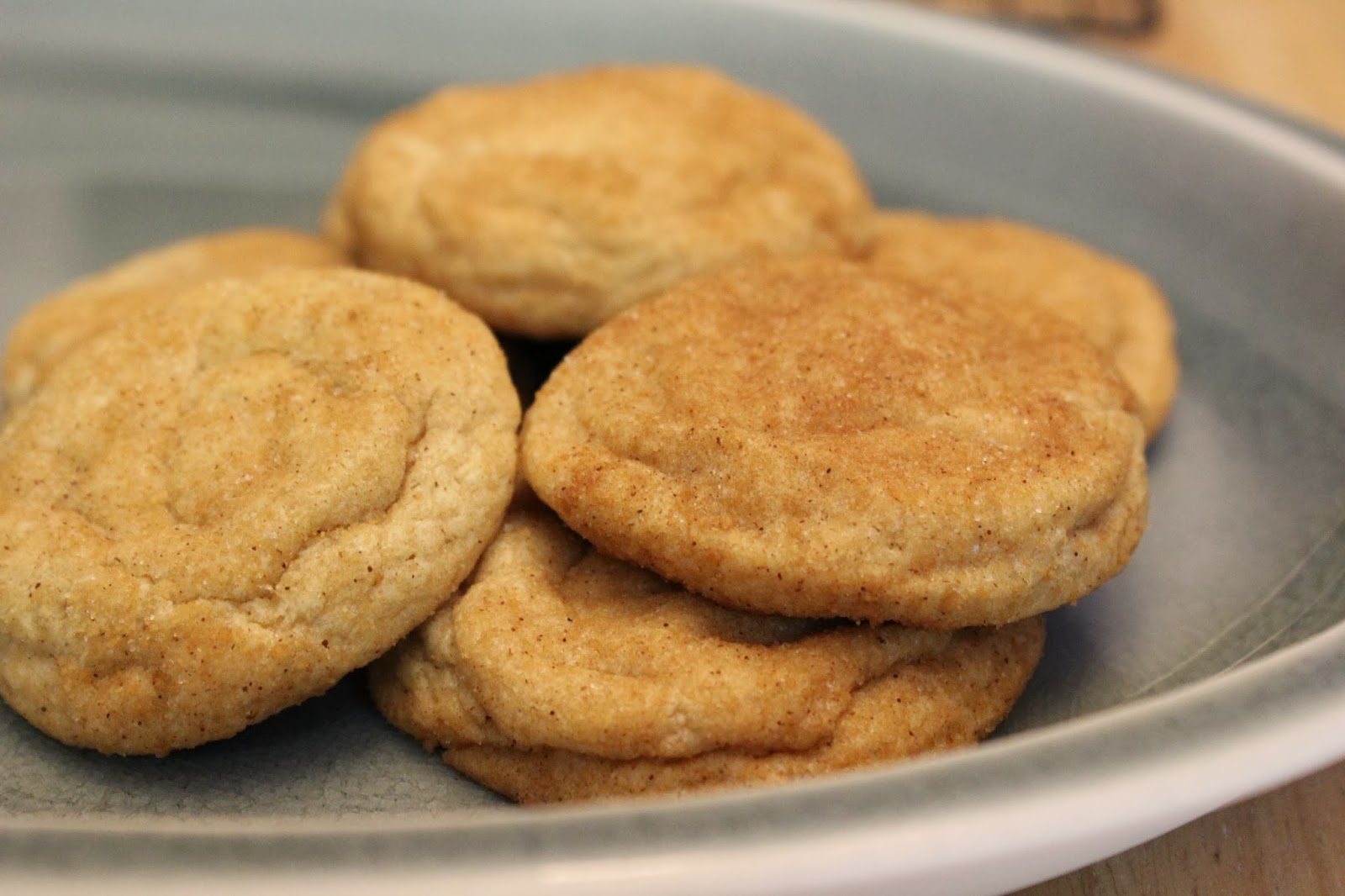 good gracious ______: maple brown butter snickerdoodles