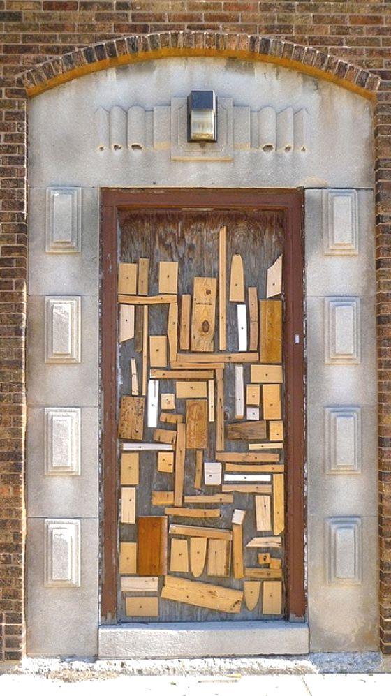 Scrap Wood Door : Patternprints journal gorgeous patterns and decorations