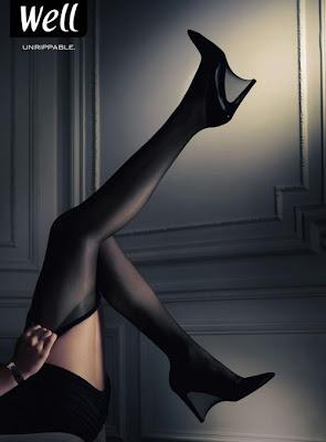 Publicidad medias mujer sexy