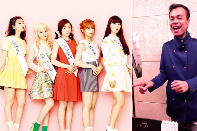 Korea, Hiburan, Artis Korea, K-POP, Ladies Code, Berlatih, Bersama, Ajieb, Untuk, Single, Kedua