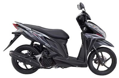 Sepeda motor honda vario techno 125cc pgm-fi / injeksi pilihan warna hitam