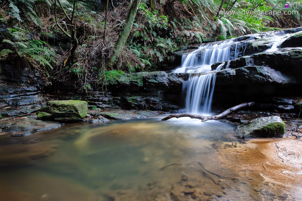 Philip Avellana, Australian Landscape Photographer, Leura Cascades, Leura, Blue Mountains, NSW, New South Wales, Australia, landscape, lowest level, waterfalls
