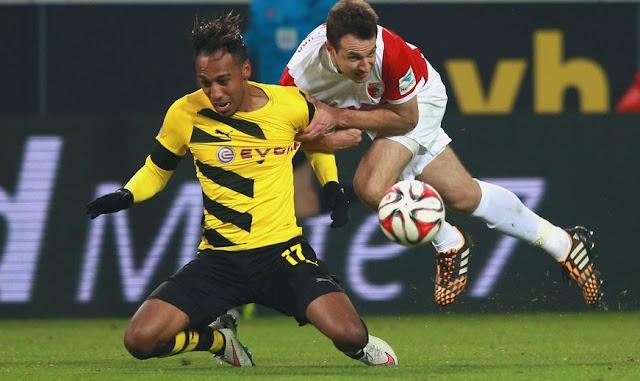 Borussia Dortmund vs Augsburg Bundesliga Germany 2015