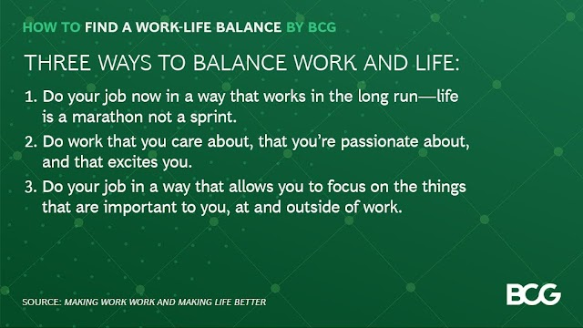 3 ways to balance work and life