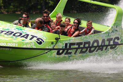 Smoky Mountain Jetboats are a wild adventure across Lake Fontana.