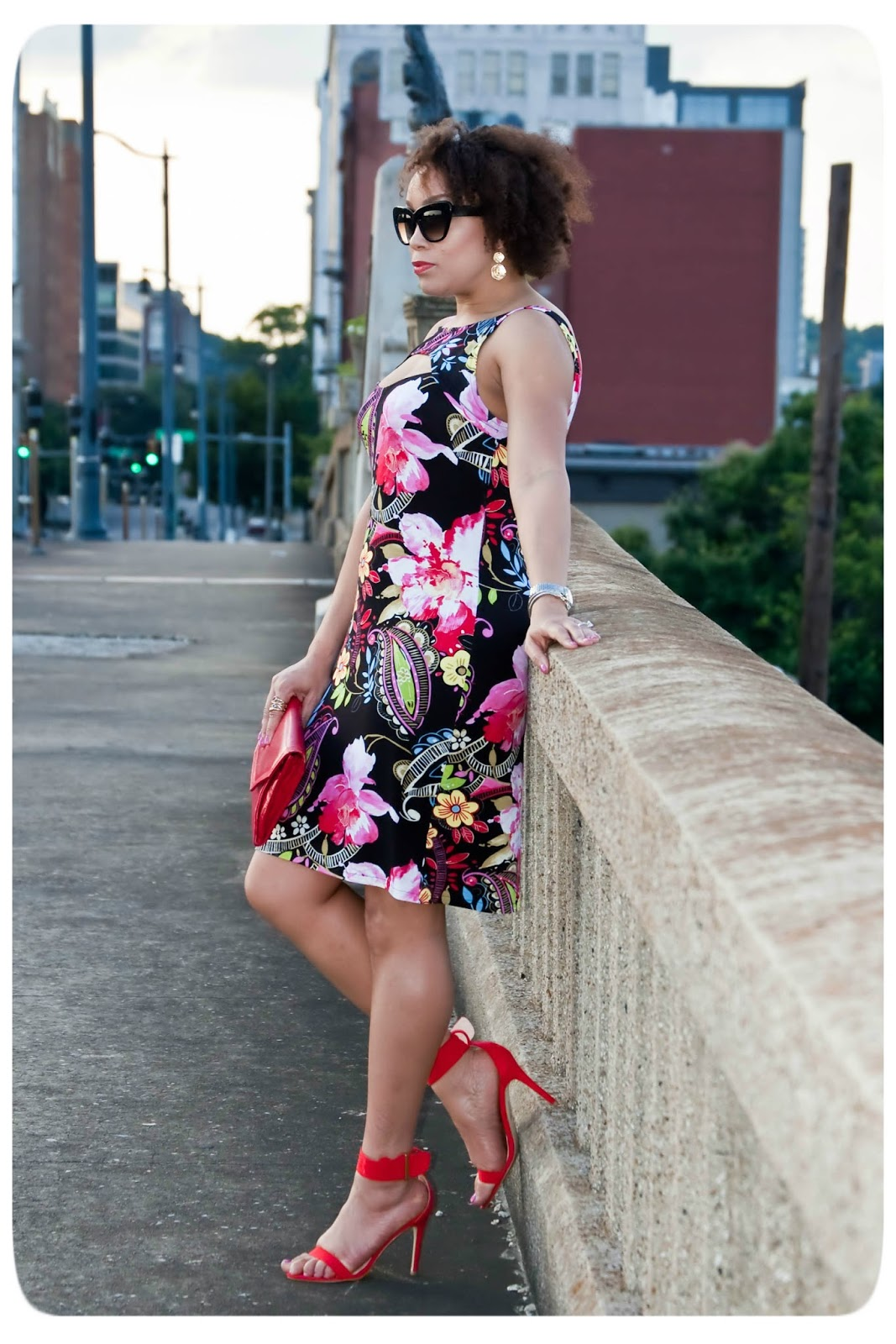 Cutouts and Florals - Erica B's DIY Style!